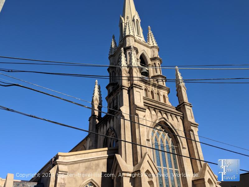 Beautiful historic church in Charleston, South Carolina