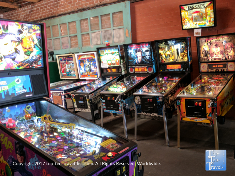 D and D pinball arcade in Tucson, Arizona