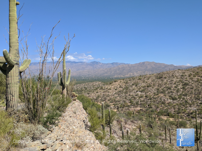 Gates pass overlook in Tucson, Arizona
