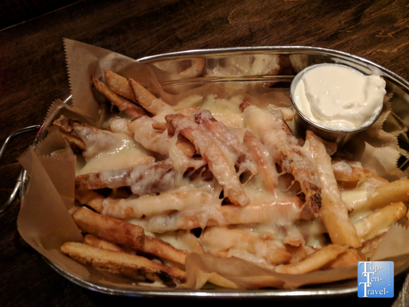 Irish fries at the Lansdowne Irish Pub at the Mohegan Sun