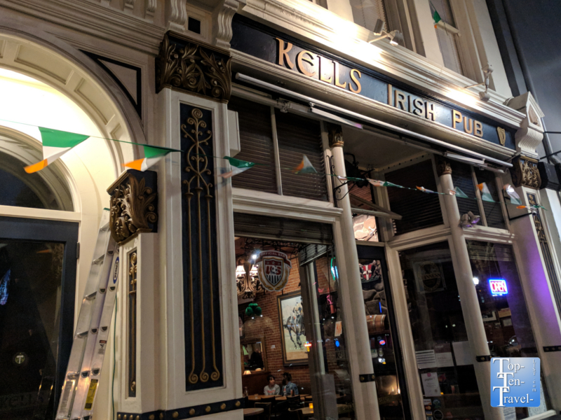 Kells Irish Pub in downtown Portland, Oregon