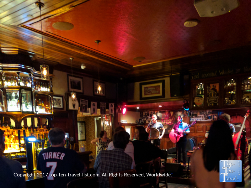 Live music at Ri Ra Irish Pub in Las Vegas