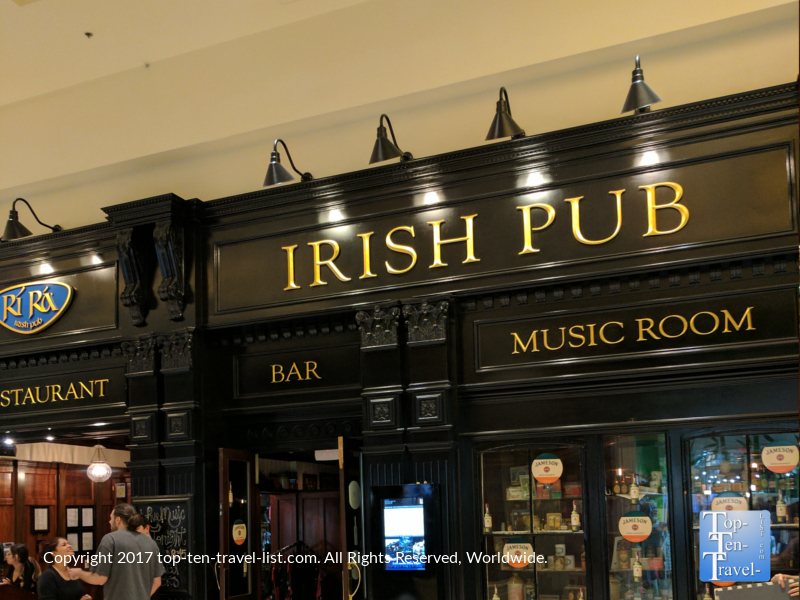 Ri Ra Irish Pub at the Mandalay Bay in Vegas