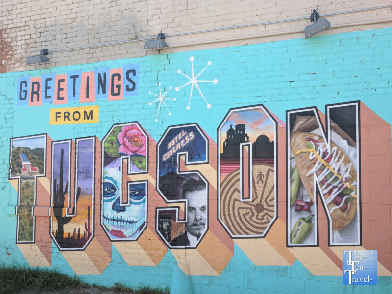 Tucson mural art