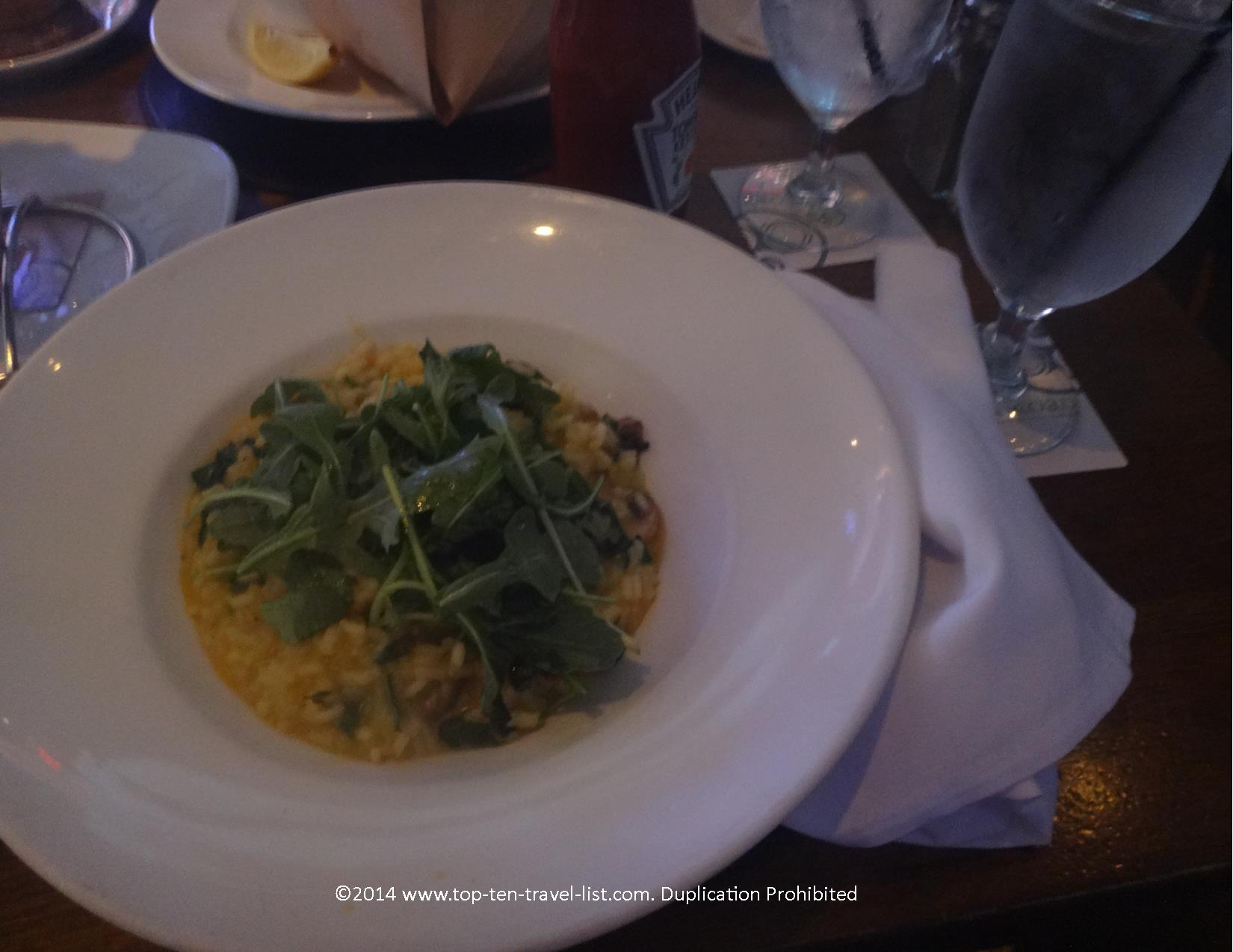 Butternut Squash risotto at Raglan Road Irish Pub in Orlando, Florida