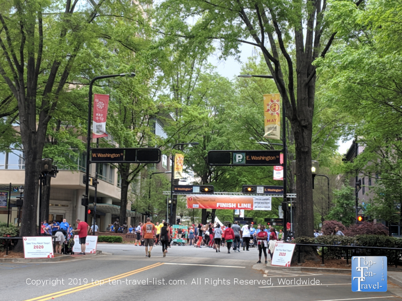 2019 Upstate Heart Walk in downtown Greenville, SC