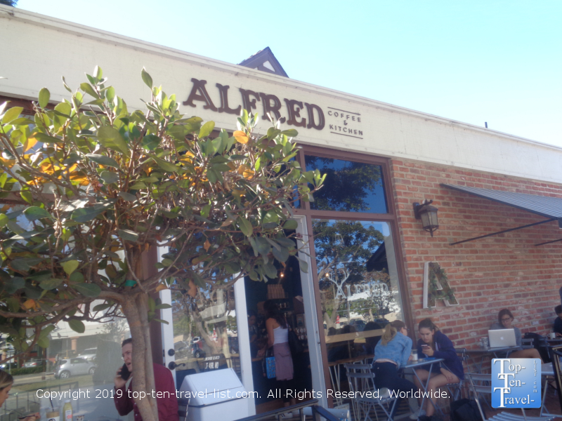 Alfred Coffee in L.A.