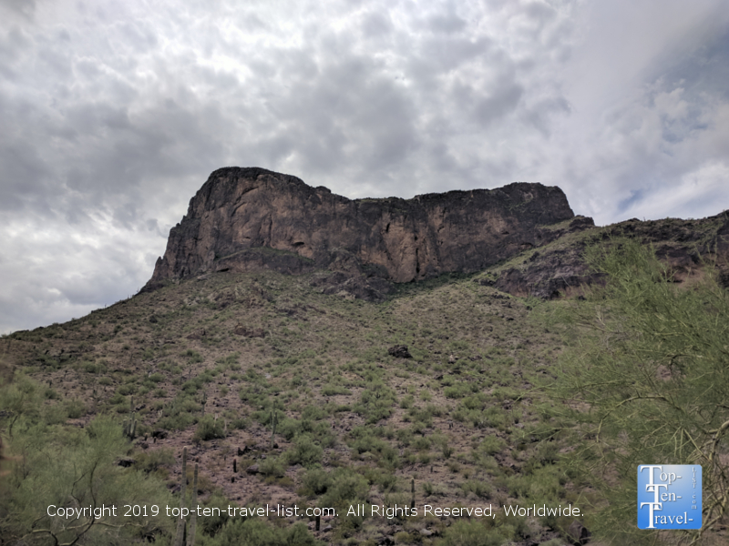 Amazing scenery at Picacho Peak State Park in Arizona