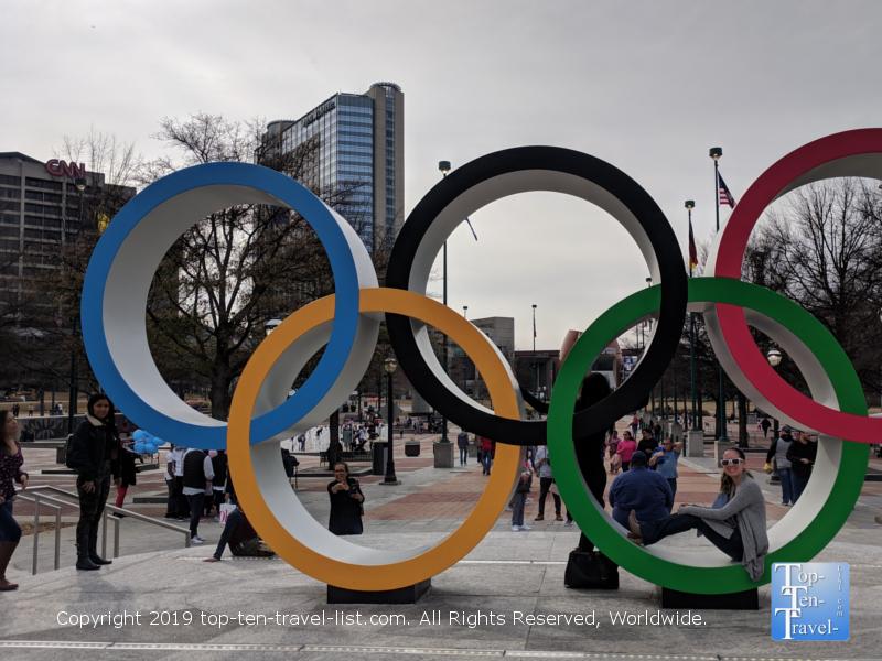 Centennial Olympic Park in Atlanta GA