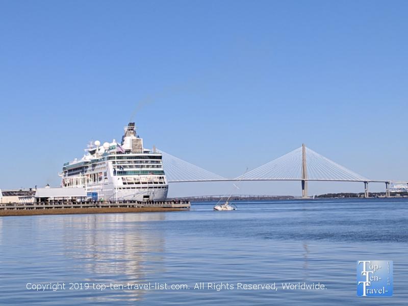 Charleston harbor