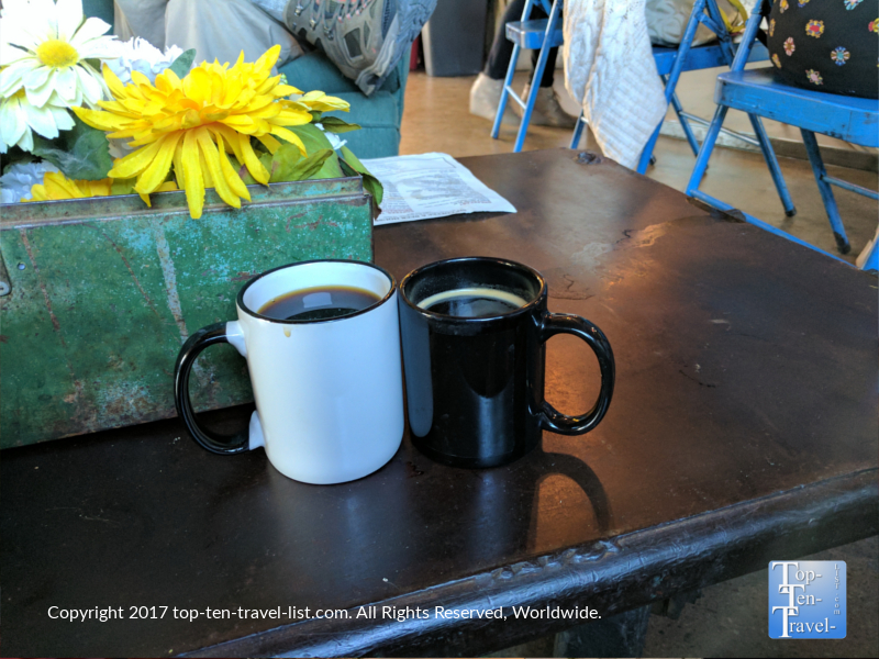 Drip coffee and Americano at Sip in Scottsdale, Arizona
