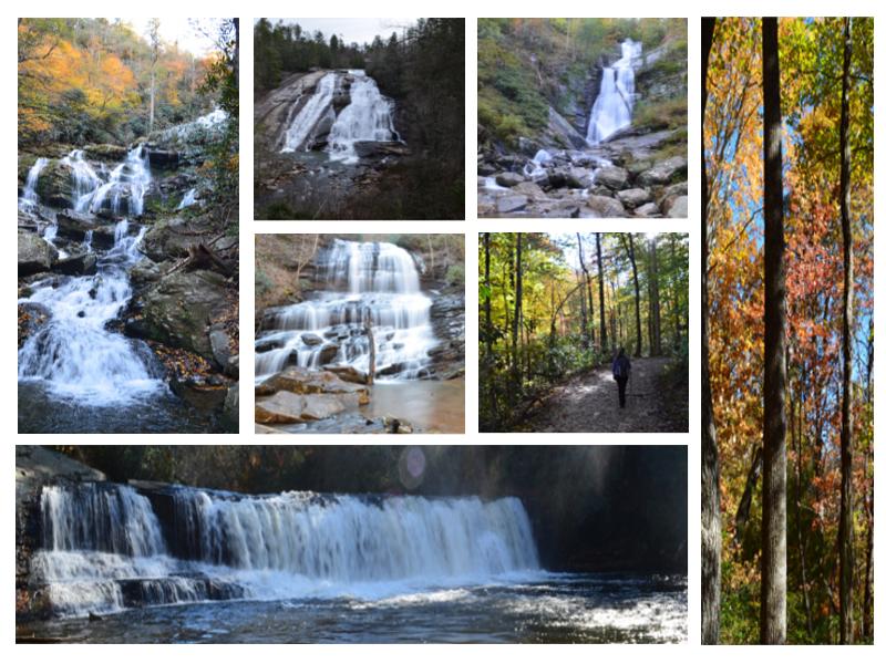 Beautiful waterfall hikes near Asheville, North Carolina