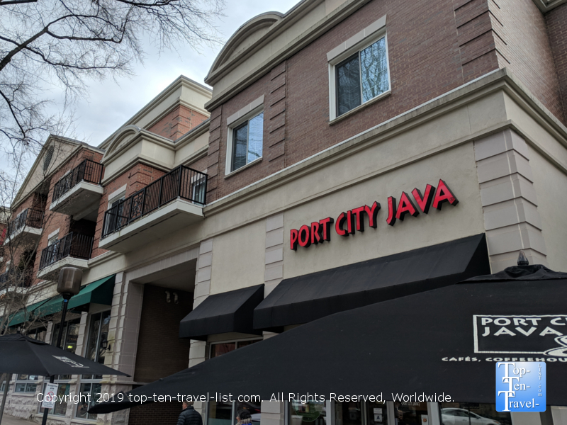 Port City Java in downtown Greenville, South Carolina
