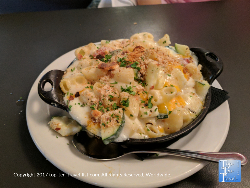 The best mac and cheese at 47 Scott in downtown Tucson, Arizona