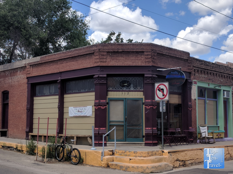 Tranquilbuzz Coffeehouse in ecentric downtown Silver City, New Mexico
