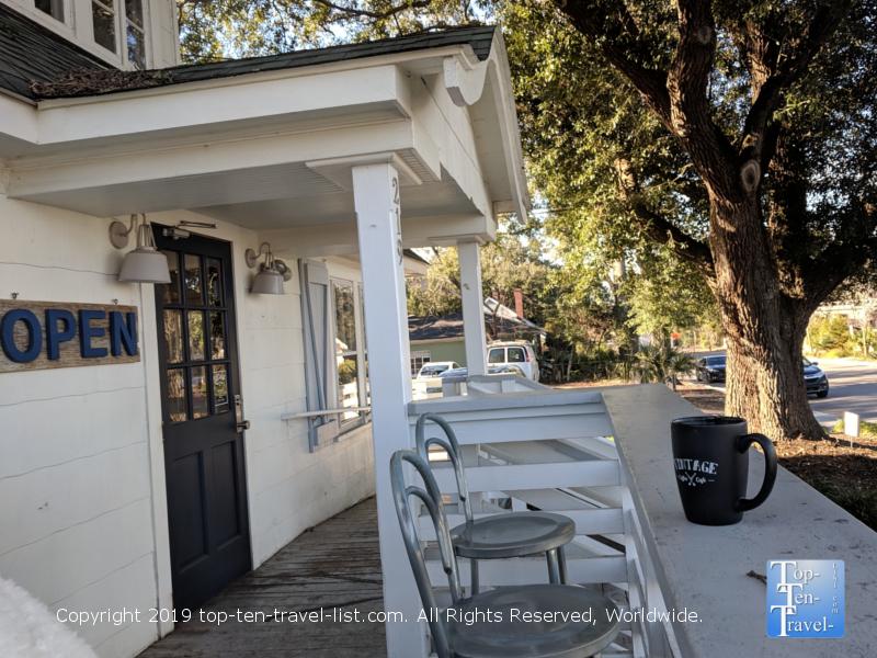 Vintage coffee shop in Mt. Pleasant, SC