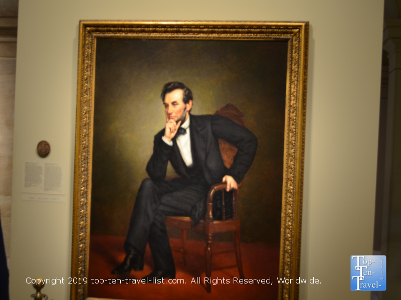 Abraham-Lincoln-portrait-at-the-Smithsonian-Portrait-Gallery