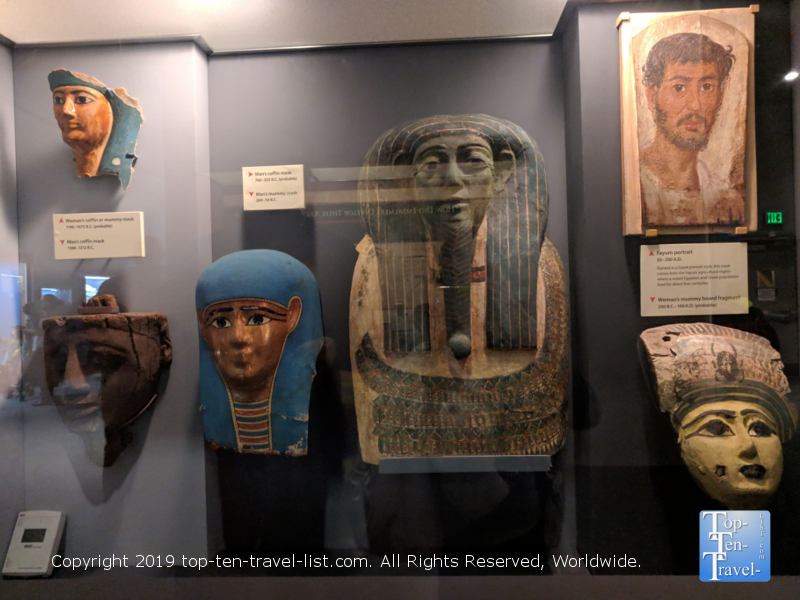 Egypt exhibit at the Smithsonian museum in DC