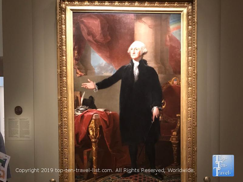 George Washington Lansdonwne portrait by Gilbert Stuart