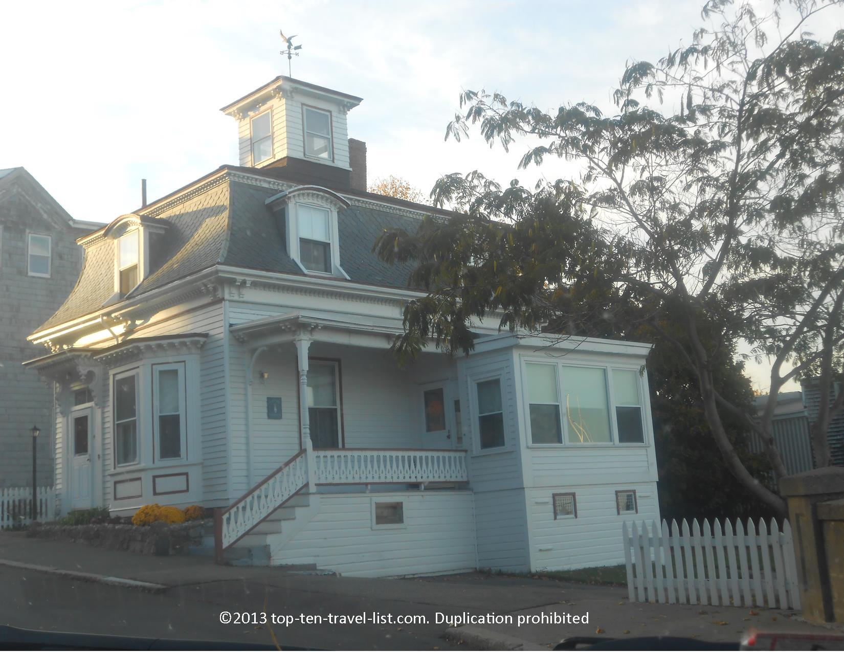 Max and Dani's house from Hocus Pocus, filmed in Salem, Massachusetts