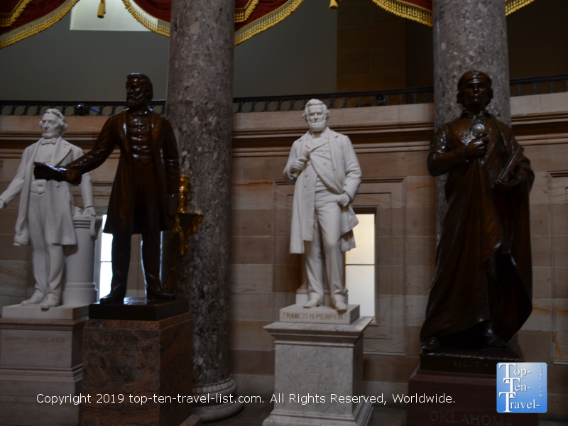 National Statuary Hall at the Capitol building in DC