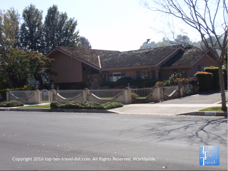 The Brady Bunch house in Los Angeles