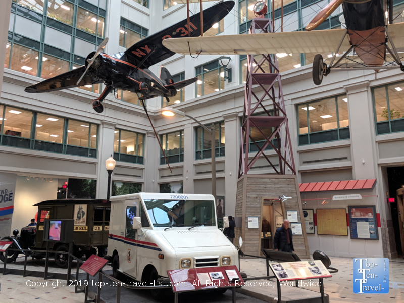 The Postal History museum in D.C.