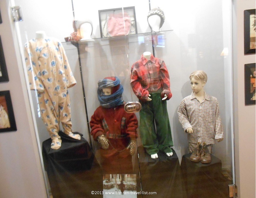 Memorabilia from A Christmas Story