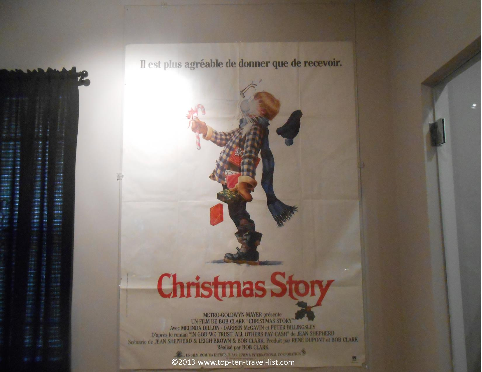 French movie poster for A Christmas Story