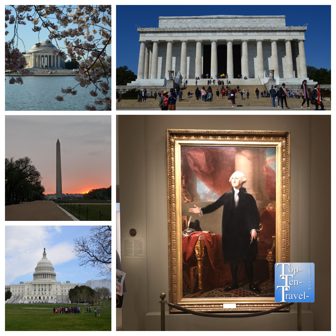 Washington DC trip planner