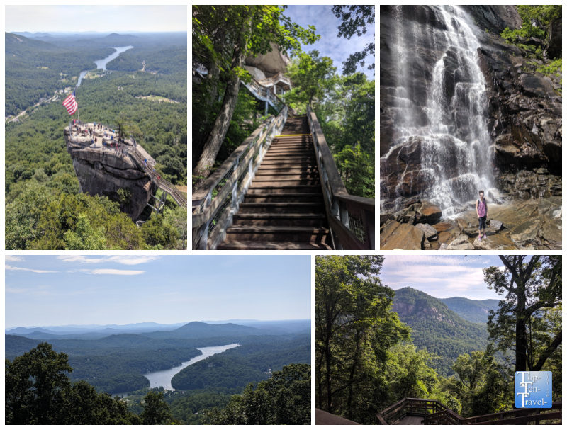 Chimney Rock State Park in Western North Carolina