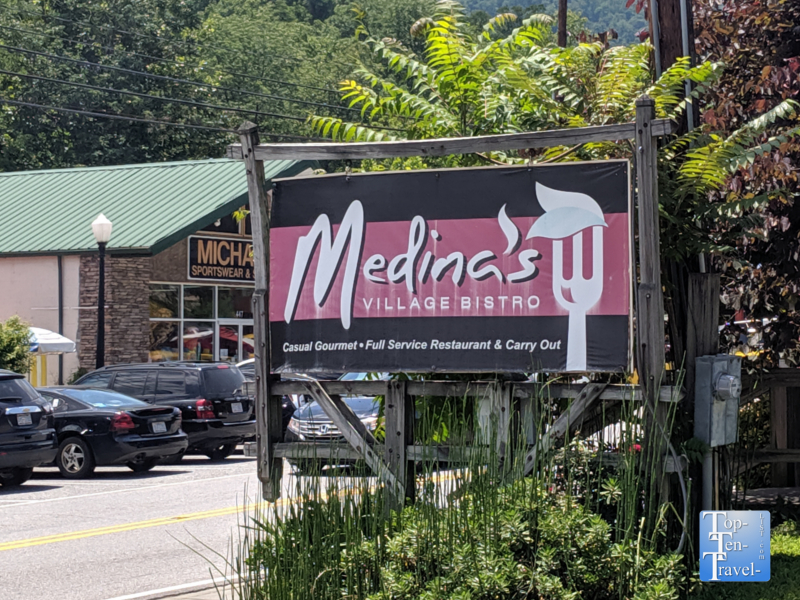 Medina's Village Bistro in Chimney Rock Village