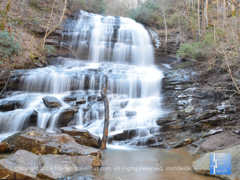 Pearsons Falls in Saluda, North Carolina