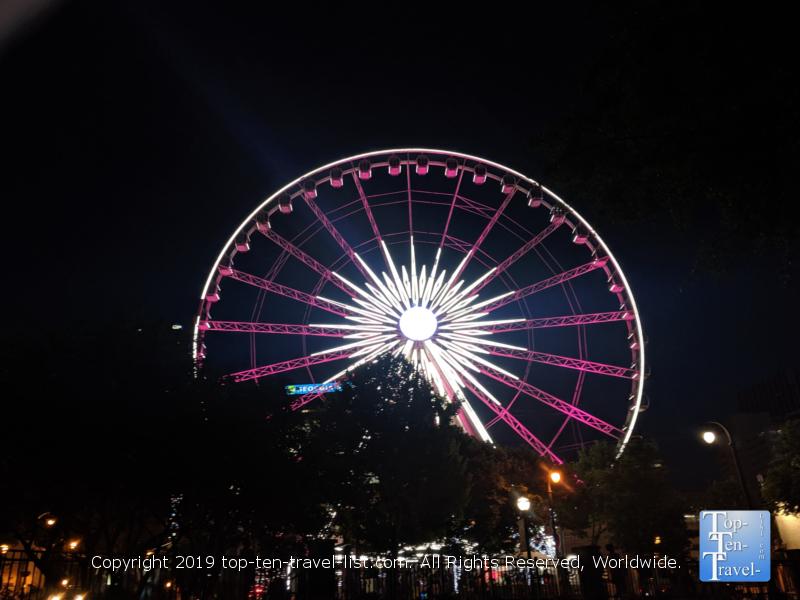 Skyview Ferris Wheel in Atlanta, Georgia