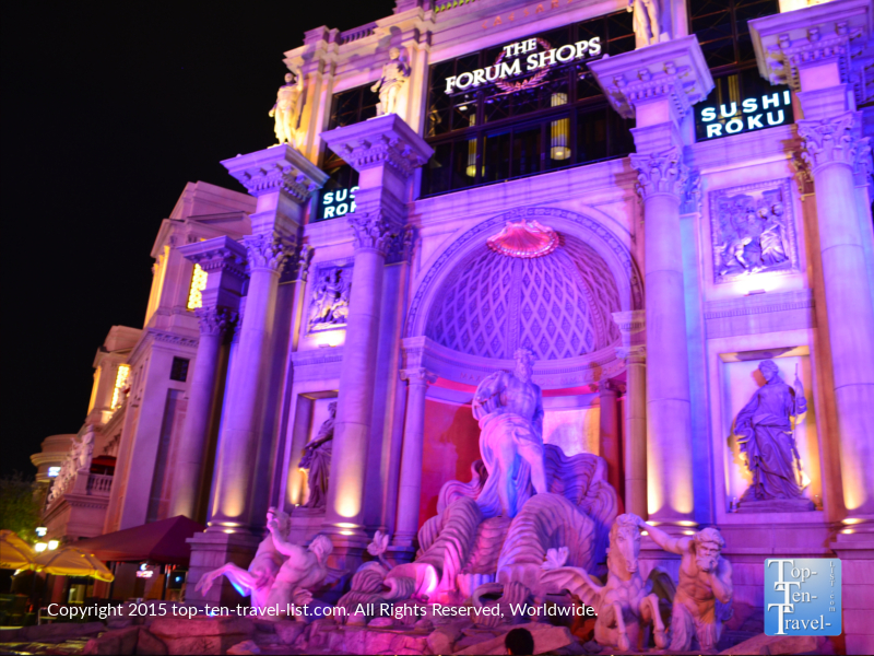 The Forum Shops in Las Vegas