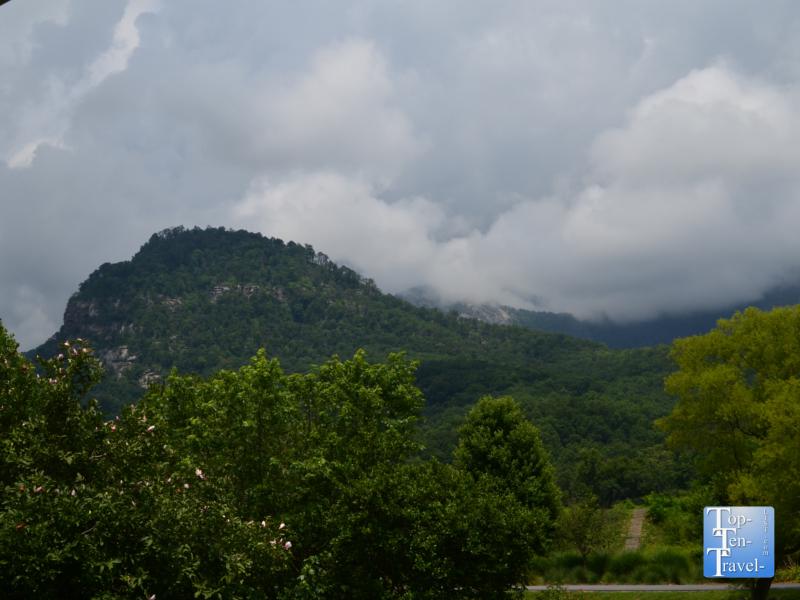 Beautiful scenery at Morse Park in Lake Lure, North Carolina