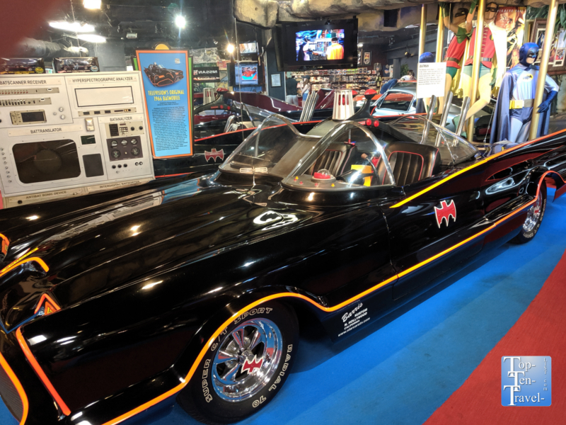 Batmobile at the Hollywood Star Cars Museum in Gatlinburg, TN