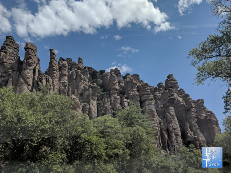Chiricahua National Monument in Southern Arizona