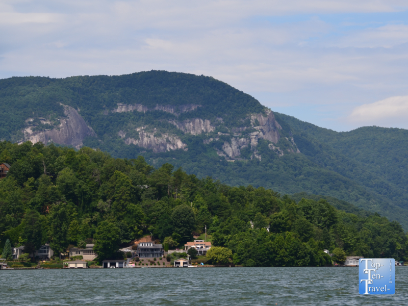 Fabulous scenery on Lake Lure in Western North Carolina