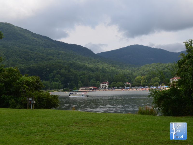 Pretty views of Lake Lure from Morse Park