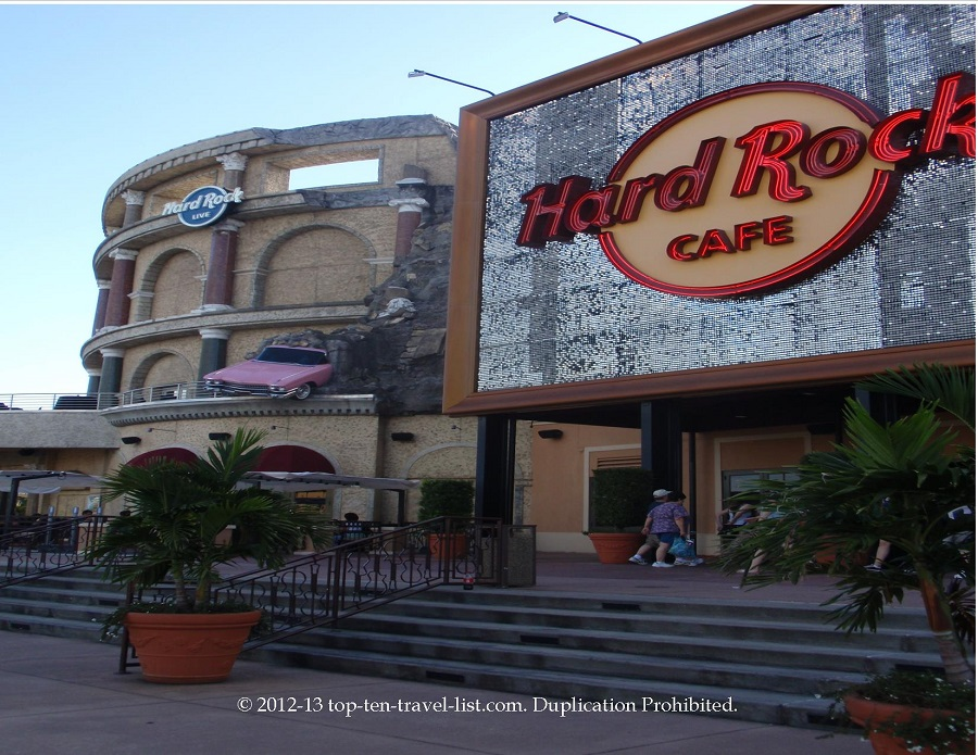 Hard Rock Cafe in Orlando, Florida