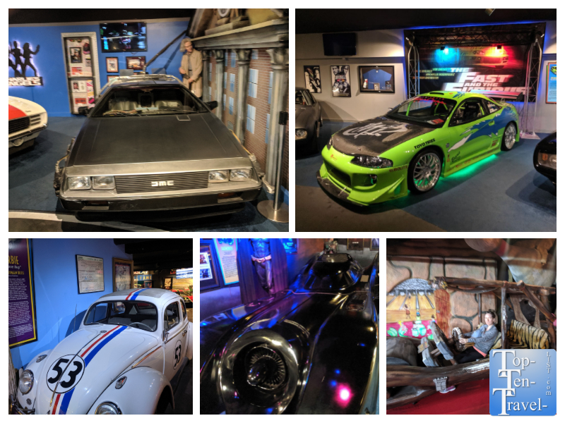 Hollywood Star Cars Museum in Gatlinburg, Tennessee