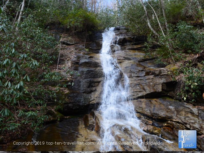 Jones Gap Falls in Upstate South Carolina