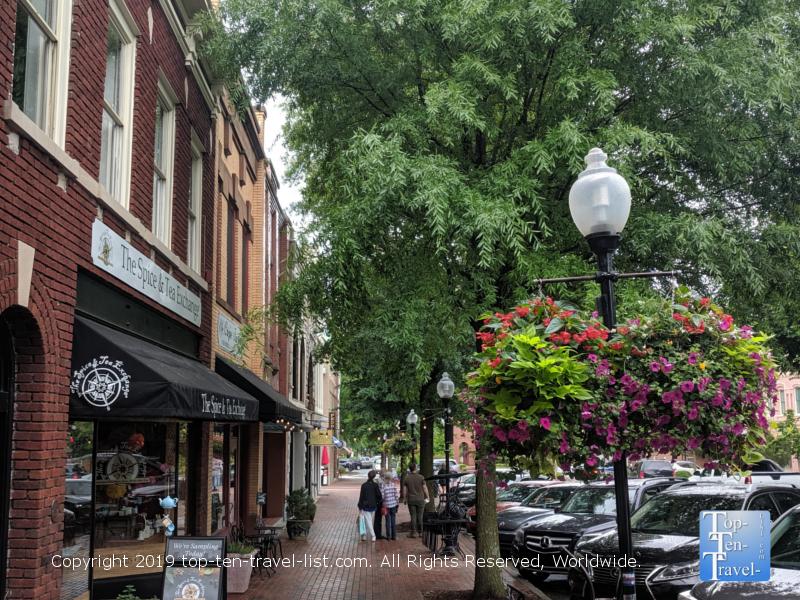 Main Street downtown Spartanburg, South Carolina