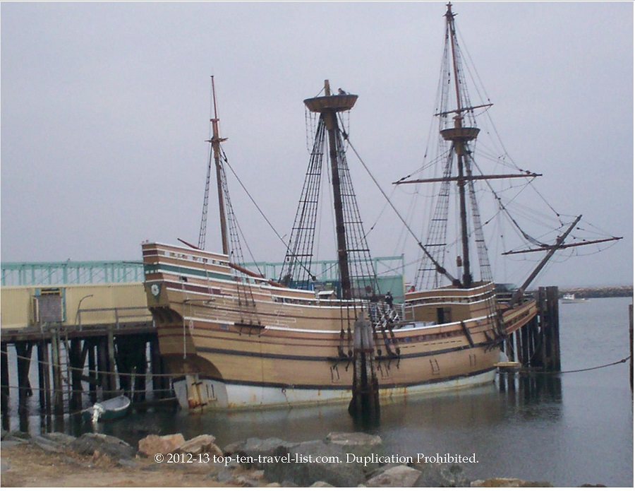 Mayflower replica in Plymouth, Massachusetts