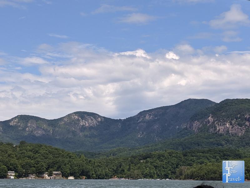 "The ""Million Dollar View"" on Lake Lure"
