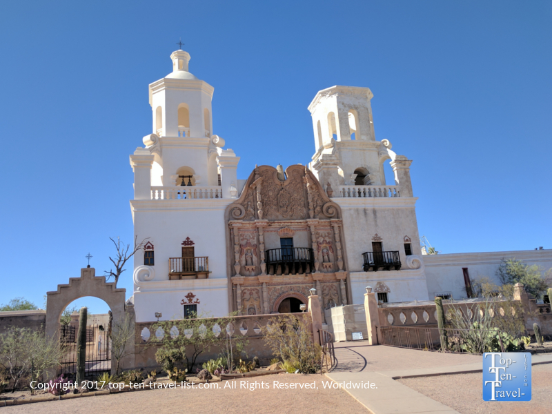 Mission San Xavier del Bac near Tucson, Arizona