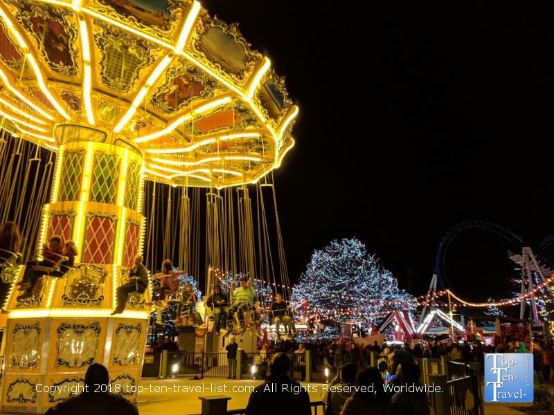 Carowinds Amusement Park in North Carolina