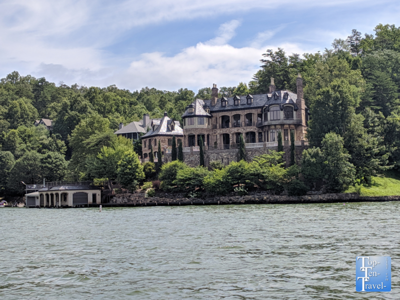 The Castle on Lake Lure