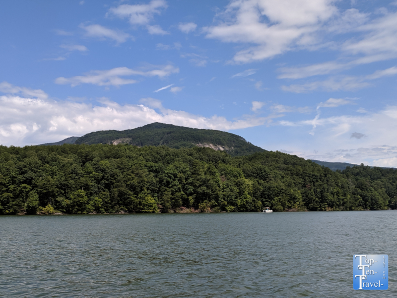 The only undeveloped land on Lake Lure